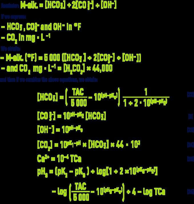 Formula: pHS - Calcograph
