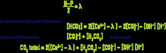 Formula: pHS - Legrand & Poirier method