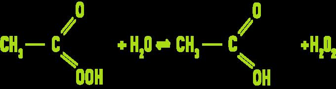 Formula: Paracetic acid