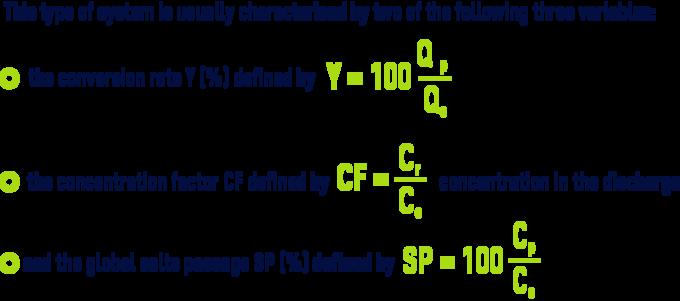 Formula: Utilisation and membrane water balance