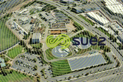 West Basin water Recycling Plant solar panels