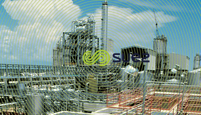 Process water production treatment influents Pemex refinery