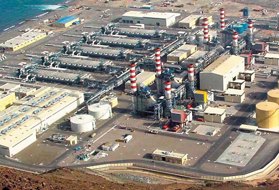 Fujairah reverse osmosis desalination plant