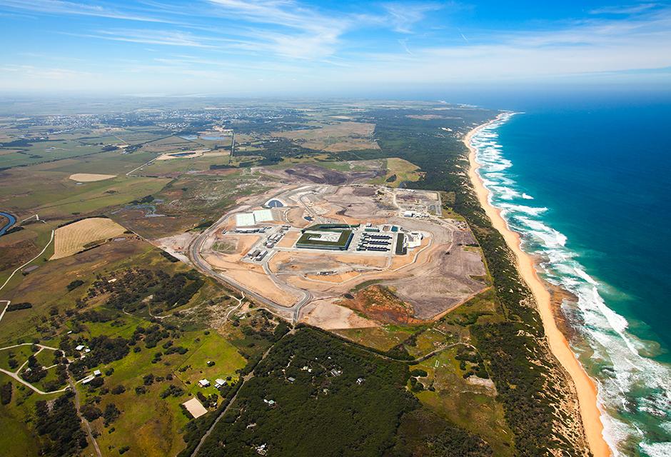 Melbourne reverse osmosis desalination plant
