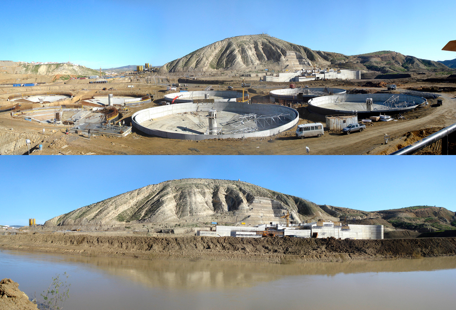 drinking water production plant Mostaganem-Arzem-Oran