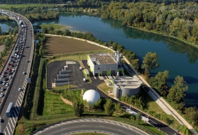 La Feyssine wastewater treatment plant France