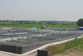 wastewater treatment plant Milan San Rocco