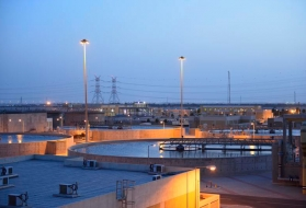 wastewater treatment plant Doha West