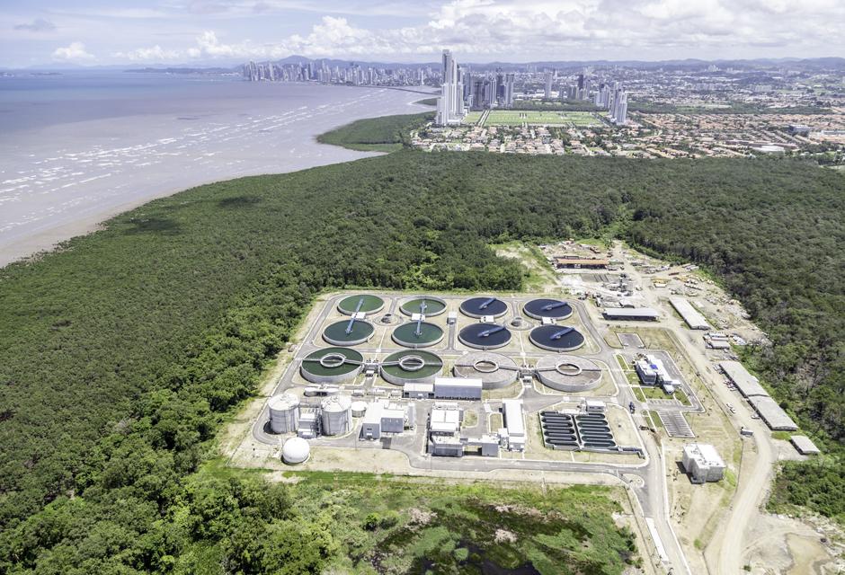 wastewater treatment plant Panama