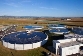 wastewater treatment plant Meistratzheim France