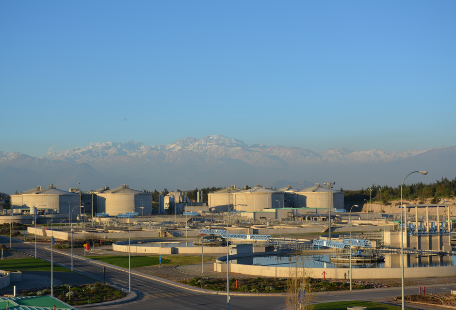 La Farfana wastewater treatment plant