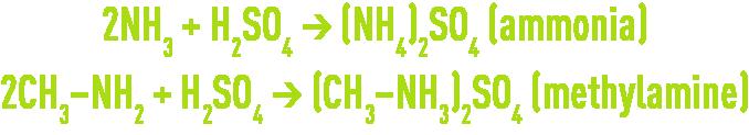 formula : odour control - sulphuric acid scrubbin