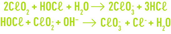 formula: preparation - formation of chlorate ions