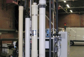 pressurized out/in ultrafiltration modules - Ultrazur Smartrack