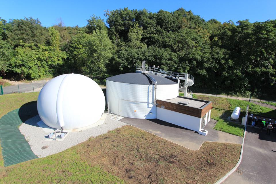 digestion integrated biogas storage – Digelis Smart