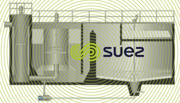 Schema physico-chemical settling tank using external sludge recirculation – Densadeg 2D