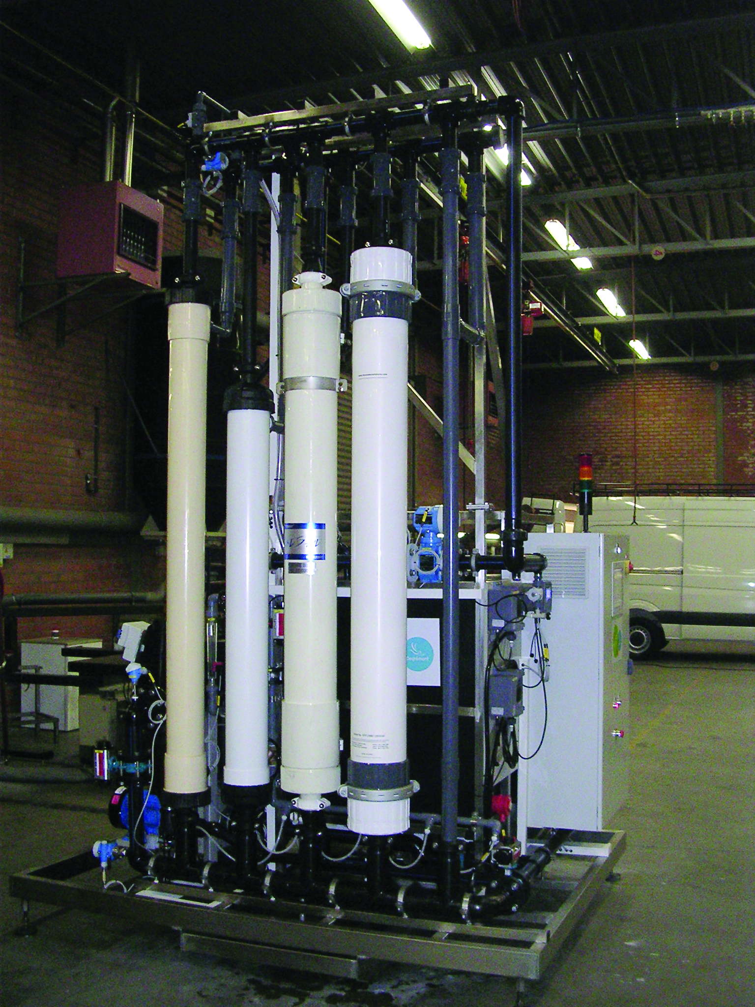 Wastewater Treatment using Ultrafiltration